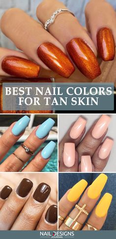 The thing is that not only nail polish shades should be taken into consideration while opting for a next manicure session, but also your skin tone. Trust us, it matters greatly! Here are the best nail colors for different skin tones. #nails #nailart #naildesign #nailscolor