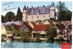 Le château dans les années 1930...