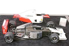 Tamiya McLaren MP4/6 Honda Racecar GP F1 Formula Plastic Model Car Kit 1/12 Scale #89721