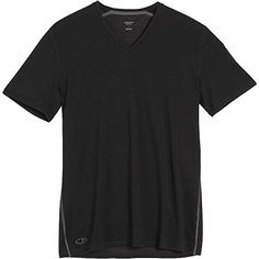 Camp Clothing - Icebreaker Mens Anatomica Short Sleeve VNeck Tee *** Read more reviews of the product by visiting the link on the image.