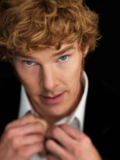 Benedict Cumberbatch is actually ginger. We repeat, Benedict Cumberbatch is actually ginger. Christina Hendricks, Redhead Men, Natural Redhead, Natural Hair, John Keats, Benedict Cumberbatch Sherlock, Sherlock Holmes, Iron Fist, Golden Voice