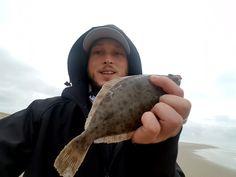Vissen op Texelse platvis