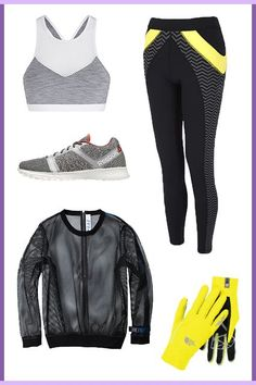 Motivating yourself to work out is hard — even harder when it's cold outside — but there 4 outfits should do the trick