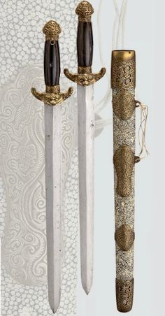 Double sword, China 19th century.