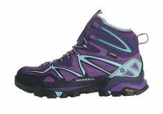 Merrell Womens Capra Mid Gore-Tex Outdoors Hiking Boots Trail Shoes US Size:6~9 #Merrell #WalkingHikingTrail
