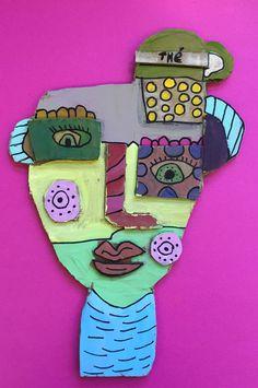 À la manière de Kimmy Cantrell  5ème année Art For Kids, Crafts For Kids, Arts And Crafts, School Art Projects, Art School, Cardboard Art, Elementary Art, Tree Branches, Art Education