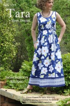 Dress pattern from Sew Serendipity