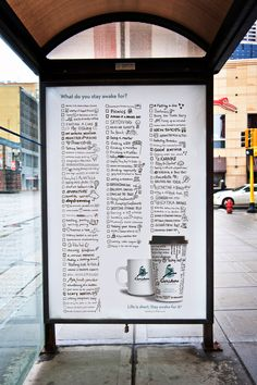 Caribou Coffee: List Advertising Agency: Colle+McVoy, USA