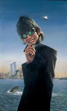 Keith Richards was also the inspiration for world-renowned pop realist Sebastian Krüger, who painted Keith in NY in 1991.