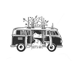 Tattoo minimalistas acuarela ideas for 2019 Van Drawing, Drawing Sketches, Art Drawings, Stylo Art, Art Du Croquis, Graffiti Tattoo, Desenho Tattoo, Black And White Illustration, Ink Illustrations