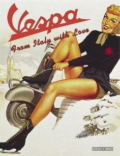 pin up girl ads