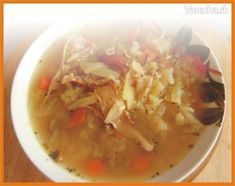 Polievka ŠAJTLAVA (fotorecept) Thai Red Curry, Food And Drink, Soup, Ethnic Recipes, Soups