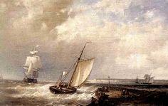 Caleta de cara al  mar  PINTURA IMPRESIONISTA II
