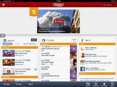 Branded zender pagina tablet net5