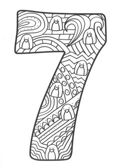 Coloring Book Pages, Coloring Sheets, Quiling Paper Art, Art Doodle, Coloring Letters, Number Crafts, Alphabet Templates, Math For Kids, Macrame Patterns