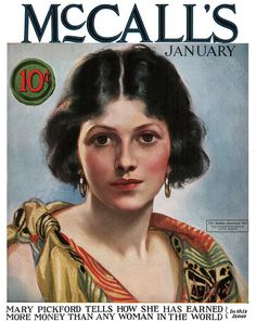 McCall's 1924-01  Cover by Neysa McMein