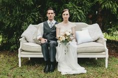 Vintage Style Wedding at Spicers Tamarind | The Bride's Tree - Sunshine Coast Wedding