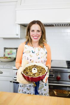 Video and recipe...2 boxes StoveTop Stuffing Bundt Cake but my family wouldn't care for cranberries and apples... so I'll make 3 boxes to be sure bundt pan is filled! They just love Stove Top the way it is....but I'll add extra celery and onions!!!!