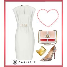 #ValentinesDay Date: the TONIC white dress | Carlisle Collection