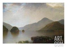 Lake George Landscape Art Print by John Frederick Kensett at Art.com