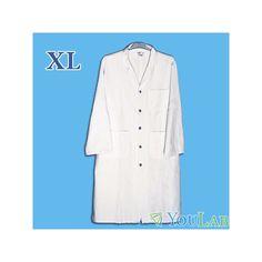 Nos blouses blanches de laboratoire sont disponibles en 4 tailles! Vous trouverez facilement la vôtre!