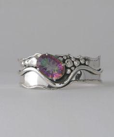 Mystic Topaz Cuff - Marksz Co. | Sterling · West Palm Beach , Handcrafted Artisan Sterling Silver Jewelry