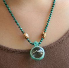 Texas Dreamin' Crystal Ball and Turquoise by ArtMasquerading, $148.00