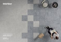 Level Set Textured Stones and Ice Breaker paired together seamlessly. Office Interior Design, Interior Designing, Office Floor, Toilet Design, Luxury Vinyl Tile, Ice Breakers, Shipping Container Homes, Patterned Carpet, Carpet Tiles