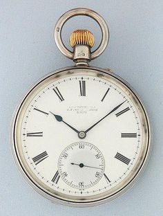 Bogoff Antique Pocket Watches Usher and Cole Deck Watch - Bogoff Antique Pocket Watch # 6711
