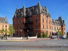 """Hogwarts"" (Stadium High School in Tacoma, WA) Evergreen State, County Seat, High Schools, Most Beautiful Cities, Modern House Design, Washington State, School Design, Pacific Northwest, Washington"