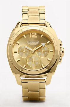 The 'Boyfriend' bracelet watch.