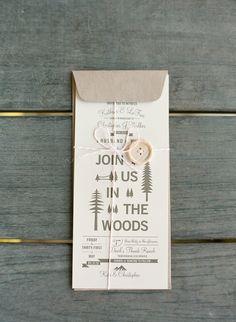 Wedding Trends: Wedding In The Woods