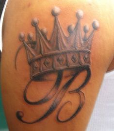 King Crown Tattoo on Pinterest | Queen Crown Tattoo, Crown Tattoos ...