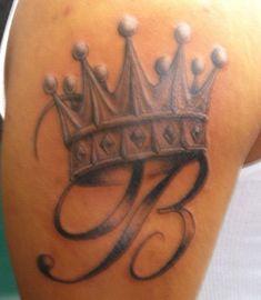 King Crown Tattoo on Pinterest | Queen Crown Tattoo, Crown Tattoos ...