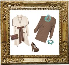 """""""Love Being on Taupe"""" by psuetani on Polyvore"""