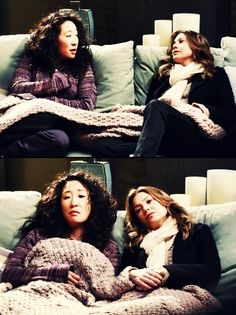 christina and meredith in greys- perfect friendship