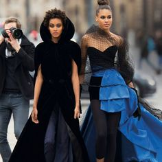 """6,066 Likes, 126 Comments - Fashion Bomb Daily (@fashionbombdaily) on Instagram: """"Snapshot: @Cindybruna, @Samile_b, and @Yassinerahal by @HansFeurer for @Vogue arabia March 2017.…"""""""