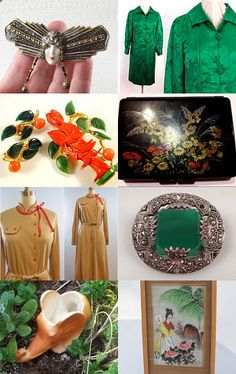 ASIAN ART DECO INSPIRATIONAL GIFTS...              100% Vintage Explosion  by Tann Tataryn on Etsy--Pinned with TreasuryPin.com