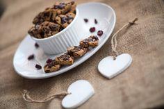 Bezglutenowe ciasteczka w kształcie serca - healthy plan by ann