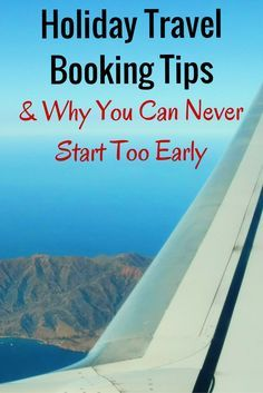 It's never to early to book your flight home for the holidays. #holidaytravel