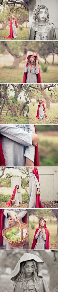 Little Red Riding Hood Photoshoot | I Heart Faces San Antonio Workshop » Savor Photography Blog | Naples Wedding Photographer
