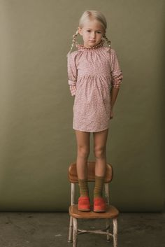 georgie dress in blush feather floral – mabo You are in the right place about Children Clothing trendy Here we offer you the most beautiful pictures about the Children Clothing zara you are looking fo Mabo Kids, Kids Clothing Brands, Children Clothing, Kaito Kid, Gathered Skirt, Kid Styles, Fashion Studio, Cool Kids, Kids Outfits