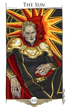 "Fitchner as ""The Sun"" ""Red Rising"" by @pierce-brown)"