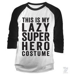 lazy super hero costume