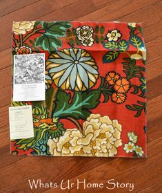 How to Get High End Designer Fabric on the Cheap - Excellent source for the Chiang Mai Dragon fabric. The swatch is usually big enough to make a throw pillow!  www.whatsurhoemstory.com