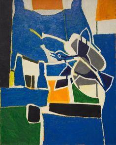 Françoise Gilot (French, 1921- )The Bird, 1963-1964