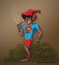 Super Saci, da série Heróis Brasileiros