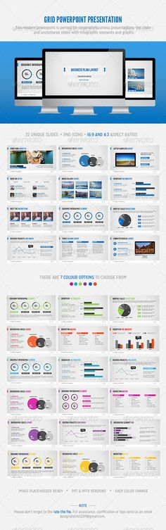 Presentation Templates - Grid Powerpoint | GraphicRiver