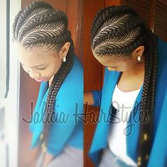 Fishbone braids