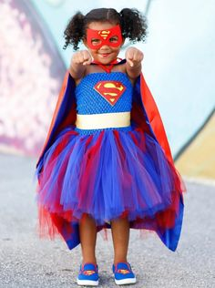 Girl Superhero Costumes, Super Hero Costumes, Toddler Girl Costumes, Halloween Costumes For Sisters, Halloween Dress, Halloween Crafts, Girls Tutu Dresses, Tutus For Girls, Pageant Wear
